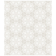 Seamless background of beige color in the style of Damascus