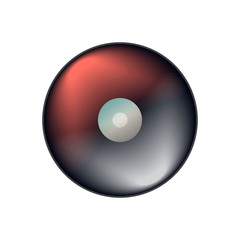 Vector ball icon for play in game