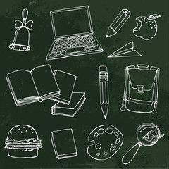 School Vector Objects