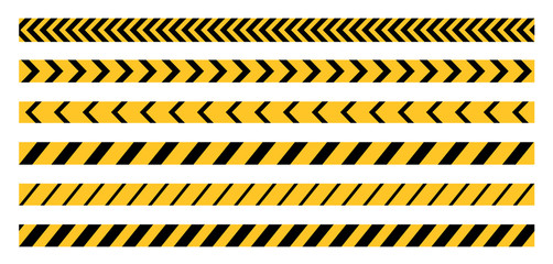Police Line Tape Wall mural