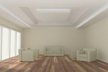 interiors room 3D rendering