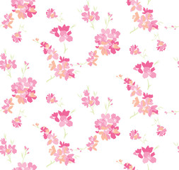 cherry blossoms background seamless