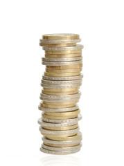 Stapel Münzen