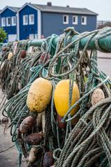 Krabbenbuden auf Helgoland