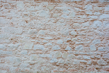Brick wall background. Light color.