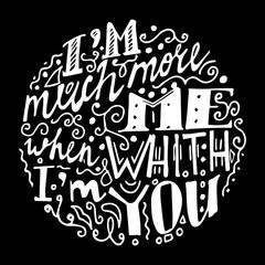 Vintage font black background illustration