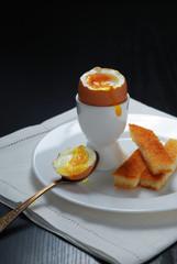 boiled morning breakfast egg