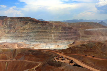 Open Pit Mine, Morenci, Arizona