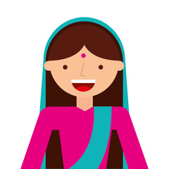 indian woman culture icon