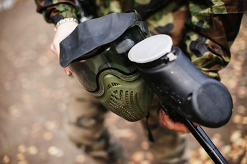 Mask for paintball