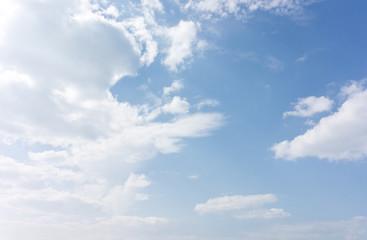 blue sky backgound