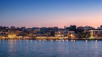 Chania, Crete, Greece: Venetian harbor