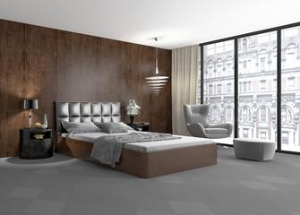 Schlafzimmer mit Relax-Möbel