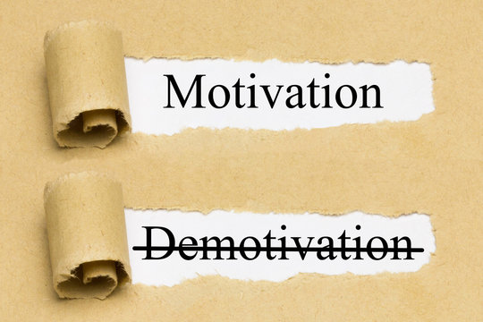 Motivation, Demotivation