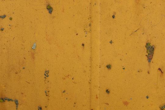 Rost am gelben Kran