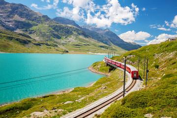 Passo del Bernina (CH) - Trenino Rosso