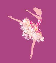 Beautiful vintage ballerina