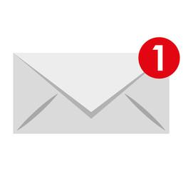 envelope isolated icon design