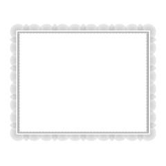 Decorative Certificate Frame