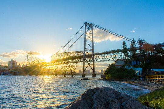Ponte Hercílio Luz - Florianópolis, Brasil