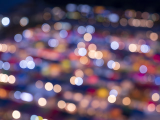 Colorful of blur bokeh background 5