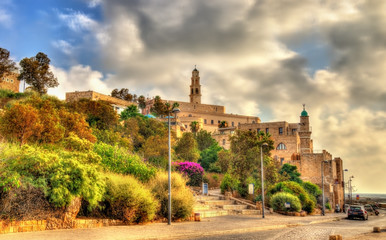 Buildings in the old city of Jaffa - Tel Aviv