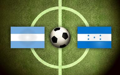 Argentina vs Honduras Soccer