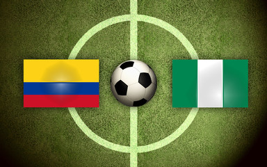 Colombia vs Nigeria Soccer
