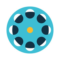 tape reel roll icon