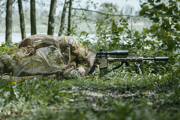 Green Berets sniper