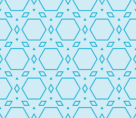 seamless sophisticated geometric pattern based on repetitive sim