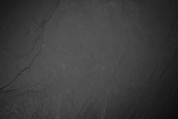 Fotoväggar - Slate board on black wood