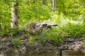 Green Berets Special Forces sniper