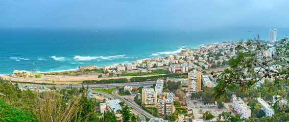 Haifa from the top