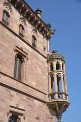 Fachada del Palacio Sobrellano
