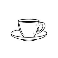 classic teacup white