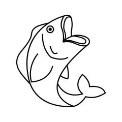fish animal aquatic icon