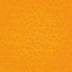 オレンジ 花の背景 高級感