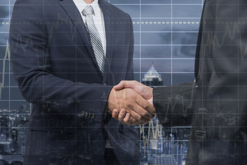 business man handshake ,Investment Agreements,business concept