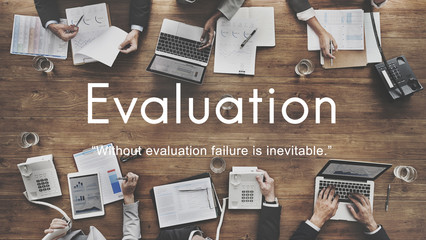 Evaluation Assessment Performance Business Development Concept