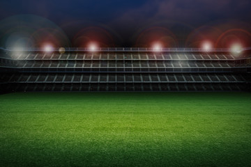 Papiers peints Stade de football stadium with soccer field