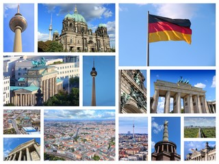 Berlin - Germany - travel collage
