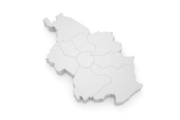 Köln Bezirke 3D
