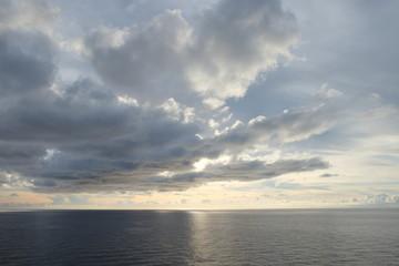 sea sky and clound
