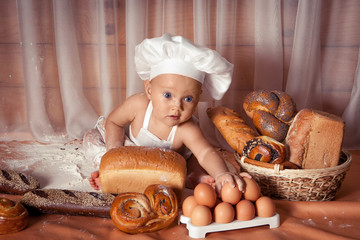 Happy baby baker