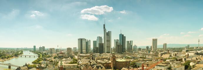 Frankfurt am Main Skyline Panorama