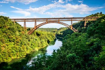 Canvas Prints Bridge iron bridge over the river Adda Lombardia Italy