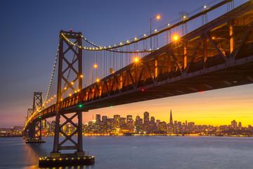 Beautiful Sunset at San Francisco Bay