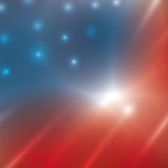 United states usa flag, america vector illustration
