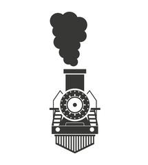 train transport public isolated icon